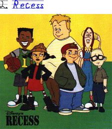 recess cartoon coloring pages - photo#45